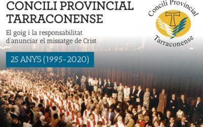El Concili Provincial Tarraconense compleix 25 anys