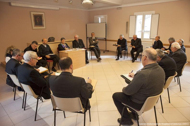 Encuentro de los obispos catalanes
