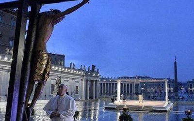 Homilia del papa Francesc a la pregària del divendres 27 de març