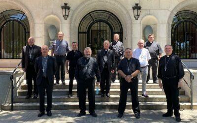 Reunió de la Comissió Episcopal de Laics, Família i Vida a Madrid