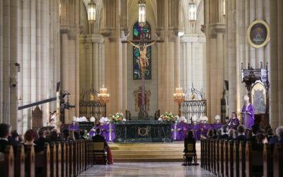 Funeral per les víctimes de la pandèmia a la Catedral de N.Sra. de la Almudena