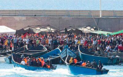 Nota de la CEE davant la situació dels immigrants a les illes Canàries