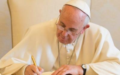 Carta del Sant Pare Francesc al Prefecte de la Congregació per a la Doctrina de la Fe sobre l'accés de les dones als ministeris del lectorat i acolitat